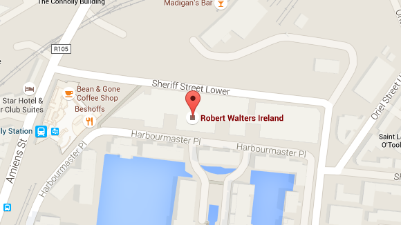 map of Dublin office