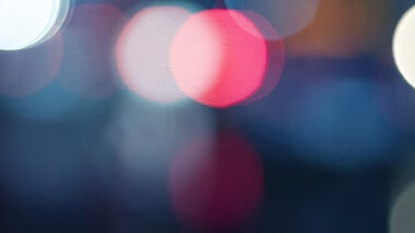 Pink and blue light blur