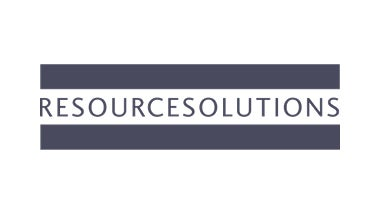 resource solutions blue logo